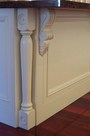 Kitchen Pedestal Posts